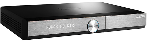 Front view of the Humax DTR 1010 PVR