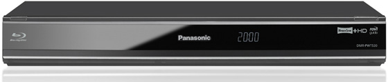 The Panasonic DMR-PWT530EB front view