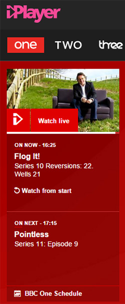BBC iPlayer - Watch Live TV online free