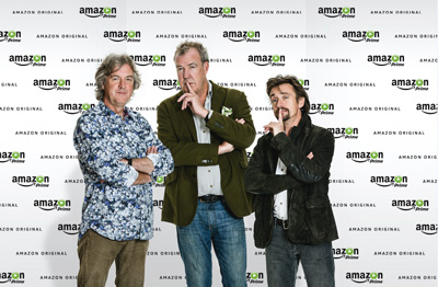 Top Gear presenters coming to Amazon Prime