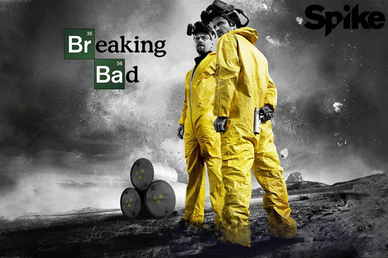 Breaking Bad on Spike UK - Freeview and Freesat