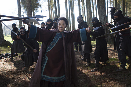 Michelle Yeoh in Crouching Tiger, Hidden Dragon 2: The Green Legend