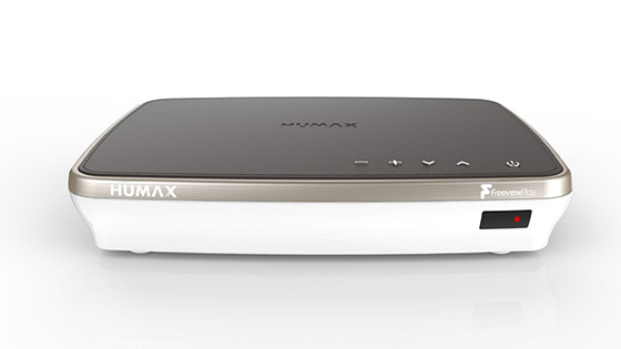 Humax FVP-4000T PVR in Cappuccino